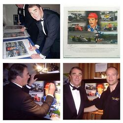 Nigel Mansell Signed Strictly Limited Edition Of Only 20 By Patrick J. Killian