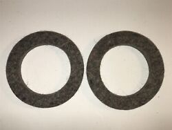 1912 Velie Rear Axle Outer Felt Oil Seals Grease Retainers Quantity 2
