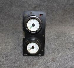 Buick Supercharger Boost Gauges. Great For Rat Rod Custom Supercharged Engine.