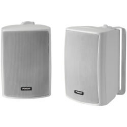 Fusion Ms-os420 4 Compact Marine Box Speakers Pair White