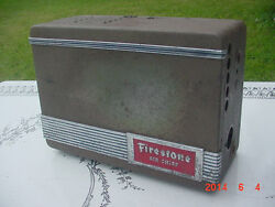 Vintage 1930and039s-40and039s Firestone Air Chief Car Radio Plymouth Ford Chevy Studebaker