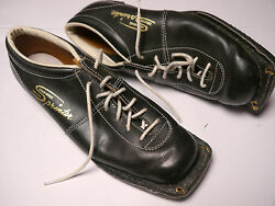 Rare Vintage 1960s Swedish Shoes Made In Sweden Square Toe Funky Hipster Euc