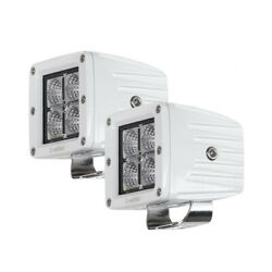 Heise Led Lighting Systems He-mcl22pk 4 Marine Cube Light Harness 3 2 Pack