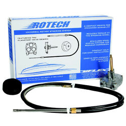 Uflex Usa Rotech08fc Rotech 8' Rotary Steering Package Cable Bezel Helm