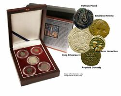 Search For The True Cross Box Of 5 Ancient Coins
