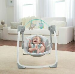 Best Baby Infant Swing Compact Ingenuity Portable Adjustable Music New
