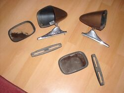 Vintage Style Sport Mirrors Hot Rod Classic Muscle Car Resto Gm Classic