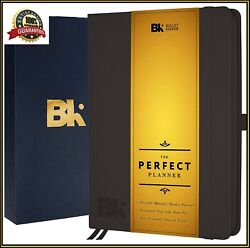 2019 Hardcover Bullet Keeper Planner Undated Notebook Journal to Achieve Goals