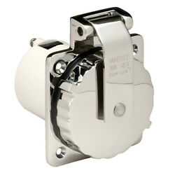 Marinco_guest_afi_nicro_bep 303ssel-b Power Inlet 30 Amp