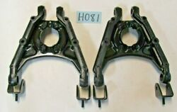 Used Oem Triumph Tr4a / Tr6 / Tr250 Lower Spring Pan And Wishbone Arm Set H081