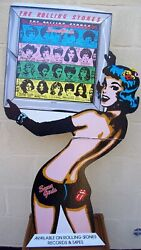 The Rolling Stones U.s. Rec Com Promo Shop Display Standee And039some Girlsand039 Lp 1978