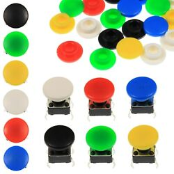 A29 Tactile Cap And Switch - Momentary Push Button - Round Pan Keycap - 6 Colours