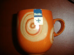 New 1 Denby Fire Chilli Large Curve Mug Replacement Cup Pottery Stoneware China