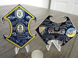 Assault Craft Unit 5 Uss Boxer And Uss New Orleans Lcac Usmc Usn Challenge Coin