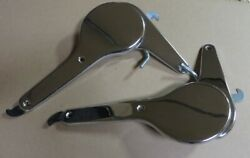 Set Of Nos 1971 Porsche 911 Outside Chrome Seat Recliners - One-year-only Parts
