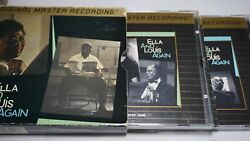 Ella Fitzgernal And Louis Armstrong - Ella And Louis Again Mfsl 24k Gold 2 Discs