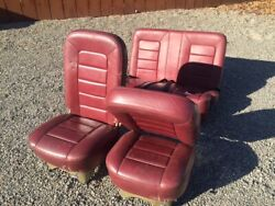 C180 - 1954 Airplane Leather Seats Good Condition