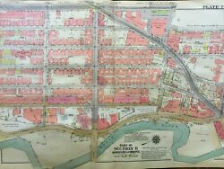 1938 West Farms Bronx Ny Chester Rko Theatre P.s. 6 And 50 Atlas Map