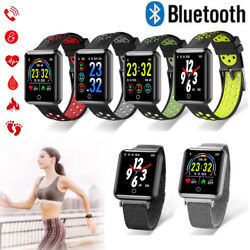 Bluetooth Smart Watch Heart Rate Monitor Pedometer for Samsung Galaxy S10 S9 S8