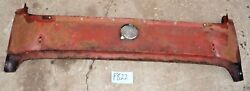 Used Oem And03959 - And03962 Triumph Tr3a - Tr3b Rear Deck Panel W/ Latching Gas Cap F822