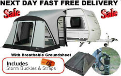 New With Carpet 2021 Dorema Quick N Easy 265 Air Inflatable Caravan Porch Awning
