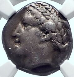 Metapontion In Lucania Authentic Ancient 400bc Silver Greek Coin Ngc I78003