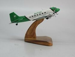 Dc-3 Douglas Buffalo Airways Dc3 Airplane Handcrafted Wood Model Large