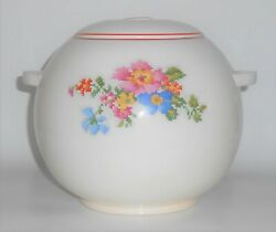 Harker Pottery China Petit Point Cookie Jar