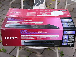 New Sony Rdr-gx255 Dvd Recorder Player 1080i Upconversion Hdmi Output