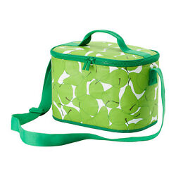 IKEA Soft Cooler bag SOMMAR green pear Picnic Travel Car Insulated lunch box