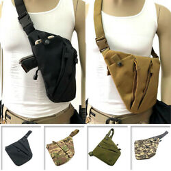 Left Right Shoulder Anti-theft Chest Bag Concealed Tactical Storage Gun Holster