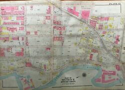 1911 West Farms Bronx Ny E. 172nd - E. Tremont Ave. P.s. 6 And 50 Atlas Map