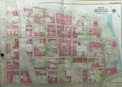 1911 West Farms Ny E Tremont - Bronx Zoo And Mapes - Bronx River Park Atlas Map