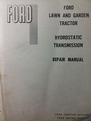 Ford 120 Hydrostatic Transmission Lgt Garden Tractor Repair Service 2 Manuals