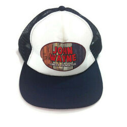 Vintage John Wayne Trucker Hat Snapback Cancer Foundation