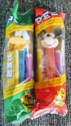 Donald Duck And Micki Mouse Pez Dispensers Collectables Unopened
