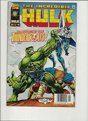Incredible Hulk 449 449 First Appearance Of The Thunderbolts Lot 2 Newsstand