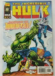 Incredible Hulk 449 First Appearance Of The Thunderbolts
