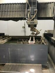 ASI 5 Axis Water Jet 5' X 8' with new Flow CNC Controller