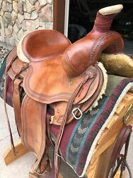 Tom Colerick Custom Made Saddles. Seat 15 And 15 1/2. New Condition.