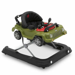 Jeep Classic Wrangler 3 In 1 Activity Baby Walker And Toy Car Anniversary Green