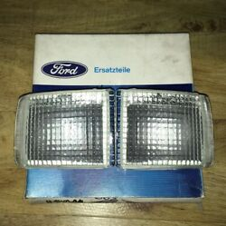 Ford Escort Sierra Rs Cosworth Clear Front Bumper Indicators Race Rally Rs500