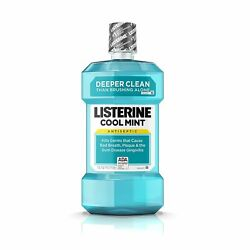 Listerine Antiseptic Mouthwash Cool Mint 1500 Ml Pack Of 9