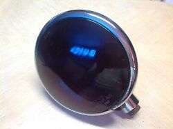 Rare Vintage Red Glass Lens Guide Warnway Lamp Rescue Light Police Fire Lite