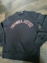 Givenchy Virginia Bitch Slogan Pullover Jumper Black Size M  uk 12  Authentic!!!