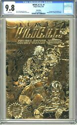 RARE WildC.A.T.S. #1 GOLD EDITION CGC 9.8 IMAGE COMIC 1st appearance JIM LEE TV