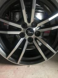 Ford Mustang 18 Inch Oems Rims High End Factory Rims. Practically Brand New.