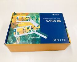 Candy 5 HD II - Low Vision Portable Video Magnifier AC  Battery SHIPS NEXT DAY