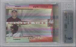 2008 Donruss Elite Extra Edition Red /50 Buster Posey Tony Thomas Ctc-30 Bgs 9