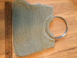 vintage hobo handbags With Large Stainless Rings $19.00